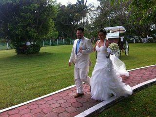 La boda de Lily y David