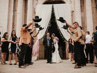 La boda de Andrea y Daniel
