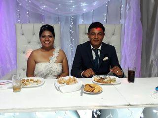 La boda de Daniela y Roman