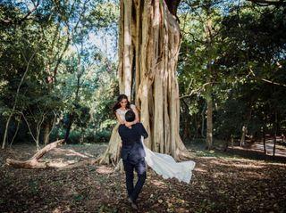 La boda de Alison y Erick