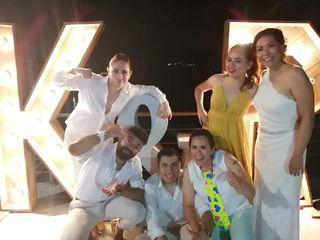 La boda de Rocio  y Karina