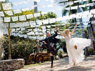 La boda de Fahrünnisa y Christian