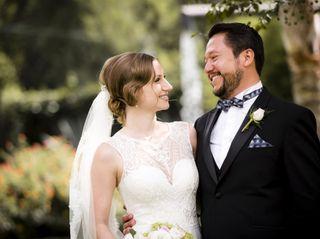 La boda de Constanze y Calef