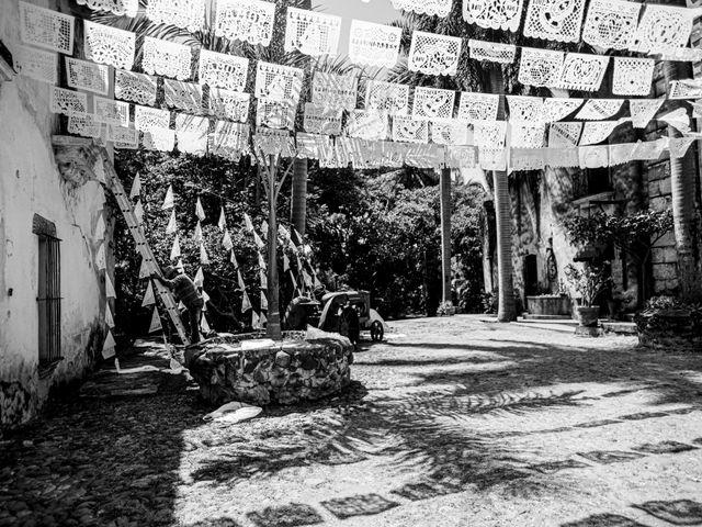 La boda de Christian y Fahrünnisa en Amacuzac, Morelos 6