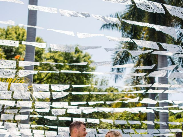 La boda de Christian y Fahrünnisa en Amacuzac, Morelos 33