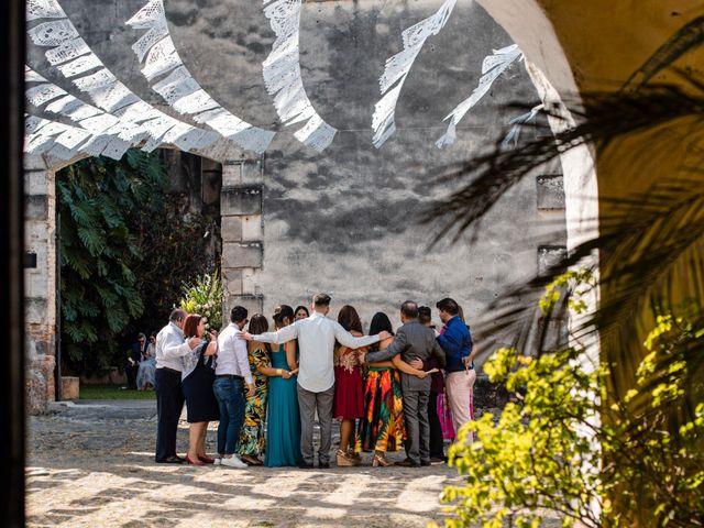 La boda de Christian y Fahrünnisa en Amacuzac, Morelos 37