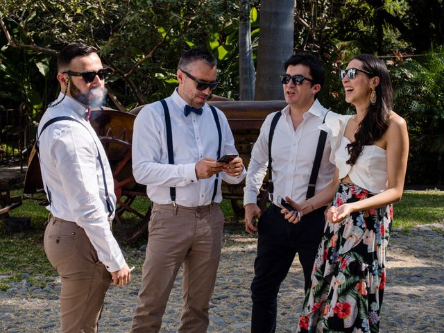 La boda de Christian y Fahrünnisa en Amacuzac, Morelos 38