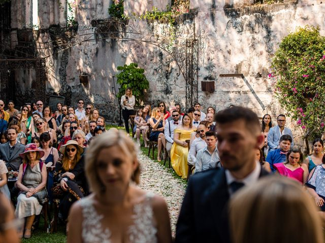 La boda de Christian y Fahrünnisa en Amacuzac, Morelos 49