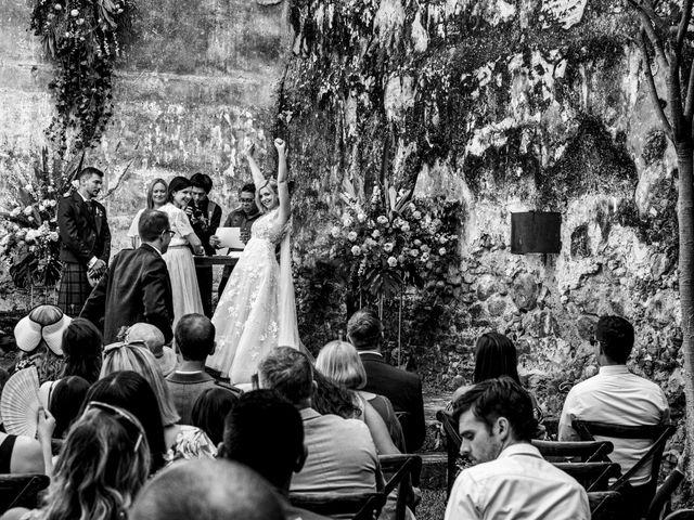 La boda de Christian y Fahrünnisa en Amacuzac, Morelos 52