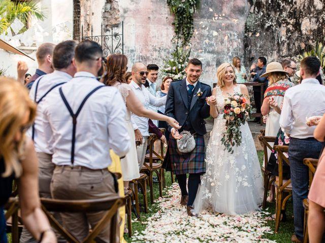 La boda de Christian y Fahrünnisa en Amacuzac, Morelos 55
