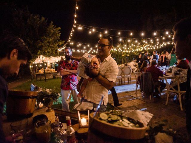 La boda de Christian y Fahrünnisa en Amacuzac, Morelos 72