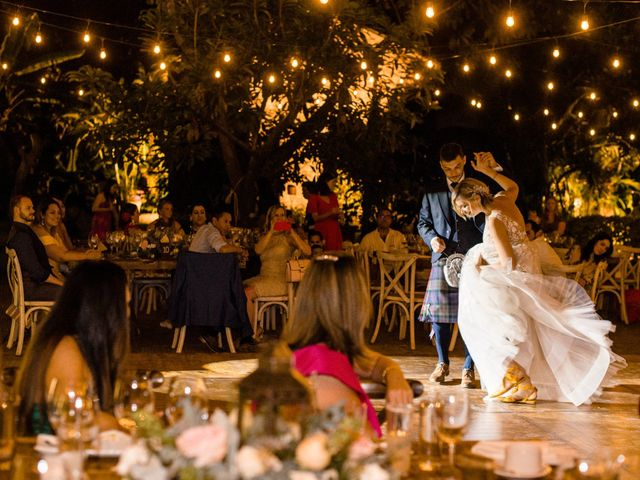 La boda de Christian y Fahrünnisa en Amacuzac, Morelos 74