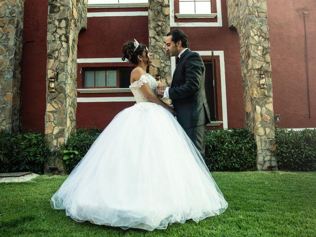 La boda de Sheccid y Antonio