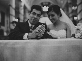 La boda de Ange y Víctor
