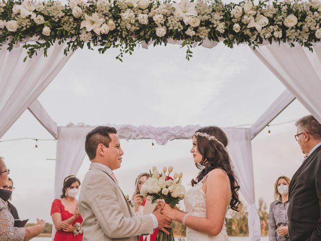 La boda de Luz y Ángel
