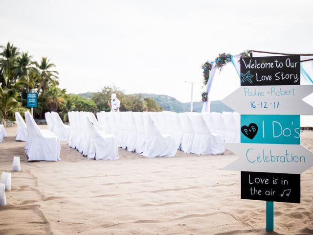 La boda de Pau y Rob en Ixtapa Zihuatanejo, Guerrero 1