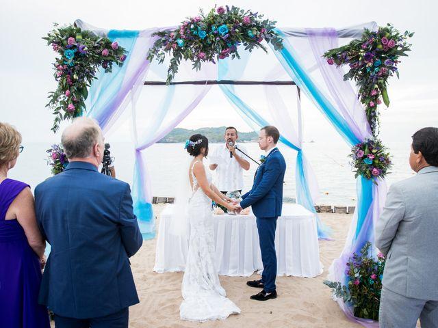 La boda de Pau y Rob en Ixtapa Zihuatanejo, Guerrero 12