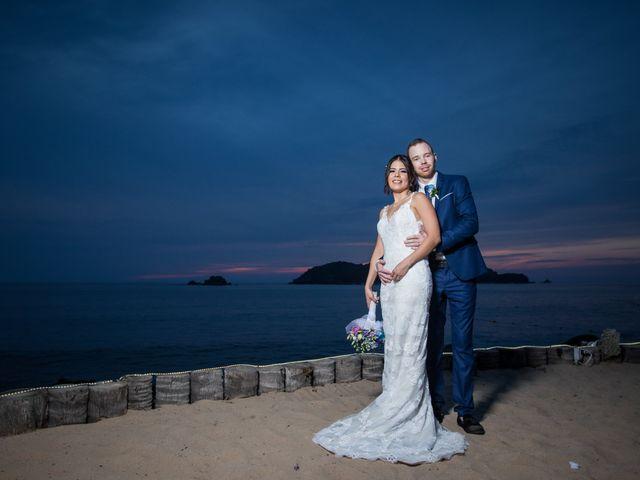 La boda de Pau y Rob en Ixtapa Zihuatanejo, Guerrero 21