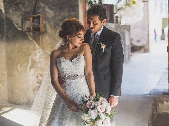 La boda de Eve y Rob