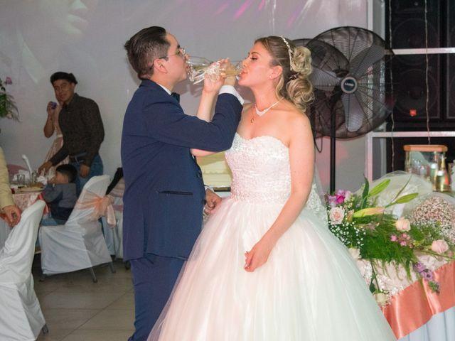 La boda de Blan y Leo