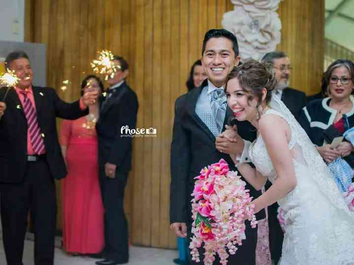 La boda de Gaby y Román
