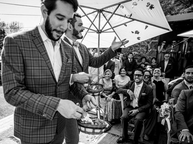 La boda de Luis y Enya en Tepoztlán, Morelos 48
