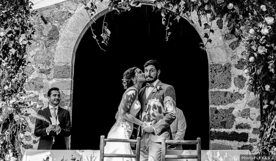 La boda de Luis y Enya en Tepoztlán, Morelos