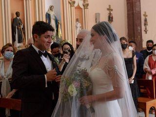 La boda de Sarahí  y Daniel  2