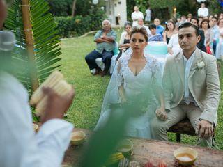 La boda de Liz y Alonso