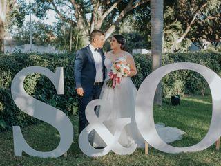 La boda de Stefany y Óscar