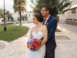 La boda de Alejandría  y Rubén