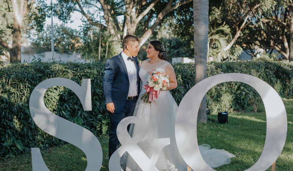 La boda de Óscar y Stefany en Zapopan, Jalisco
