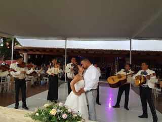 La boda de Angélica  y Oscar