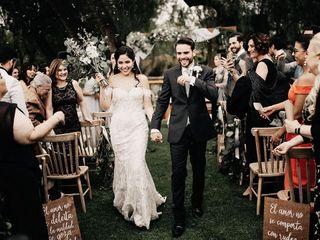 La boda de Génesis y Rodrigo 1