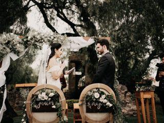 La boda de Génesis y Rodrigo