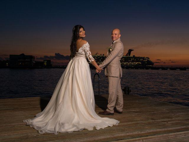 La boda de Eduardo  y Gladis  en Cozumel, Quintana Roo 14