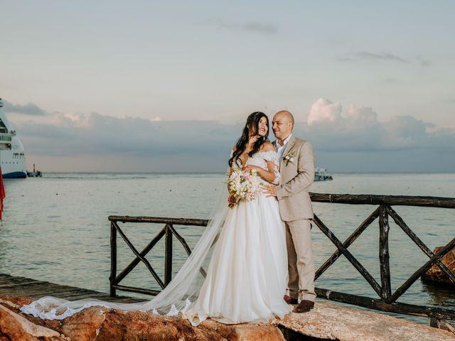 La boda de Eduardo  y Gladis  en Cozumel, Quintana Roo 4