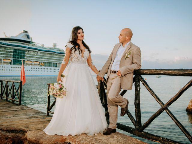 La boda de Eduardo  y Gladis  en Cozumel, Quintana Roo 5