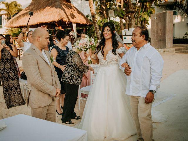 La boda de Eduardo  y Gladis  en Cozumel, Quintana Roo 8