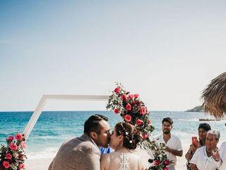 La boda de Grecia y Arturo 1