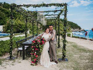 La boda de Grecia y Arturo
