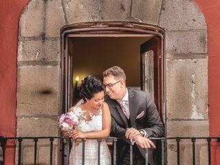 La boda de Sandra y Guillaume