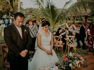 La boda de María y Jasiel
