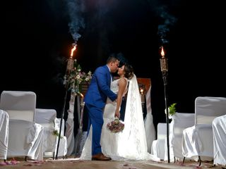La boda de Angélica y Moisés