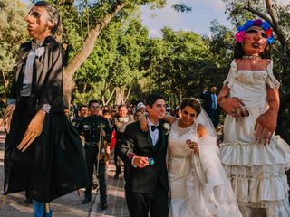La boda de Edna y Anthony