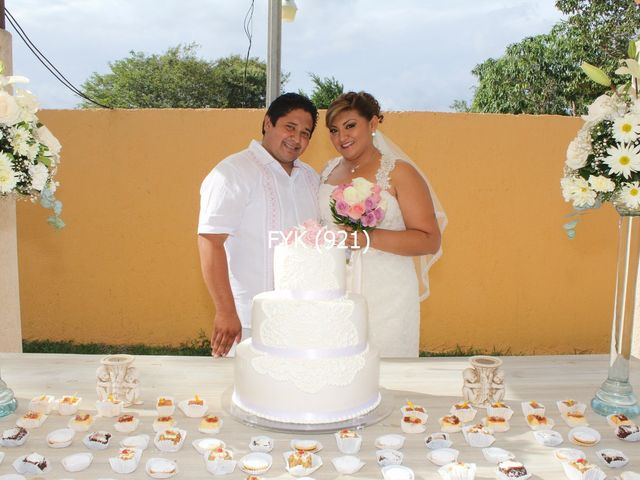 La boda de Francisco y Karla  en Mérida, Yucatán 9