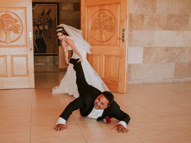 La boda de Reyna y Virgilio