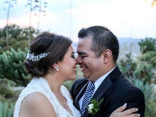 La boda de Cyntia y Abraham