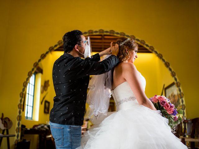 La boda de Efren y Jarumy en Zempoala, Hidalgo 14