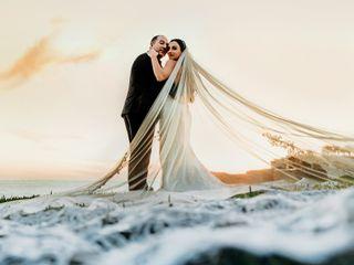 La boda de Elizabeth y Manuk